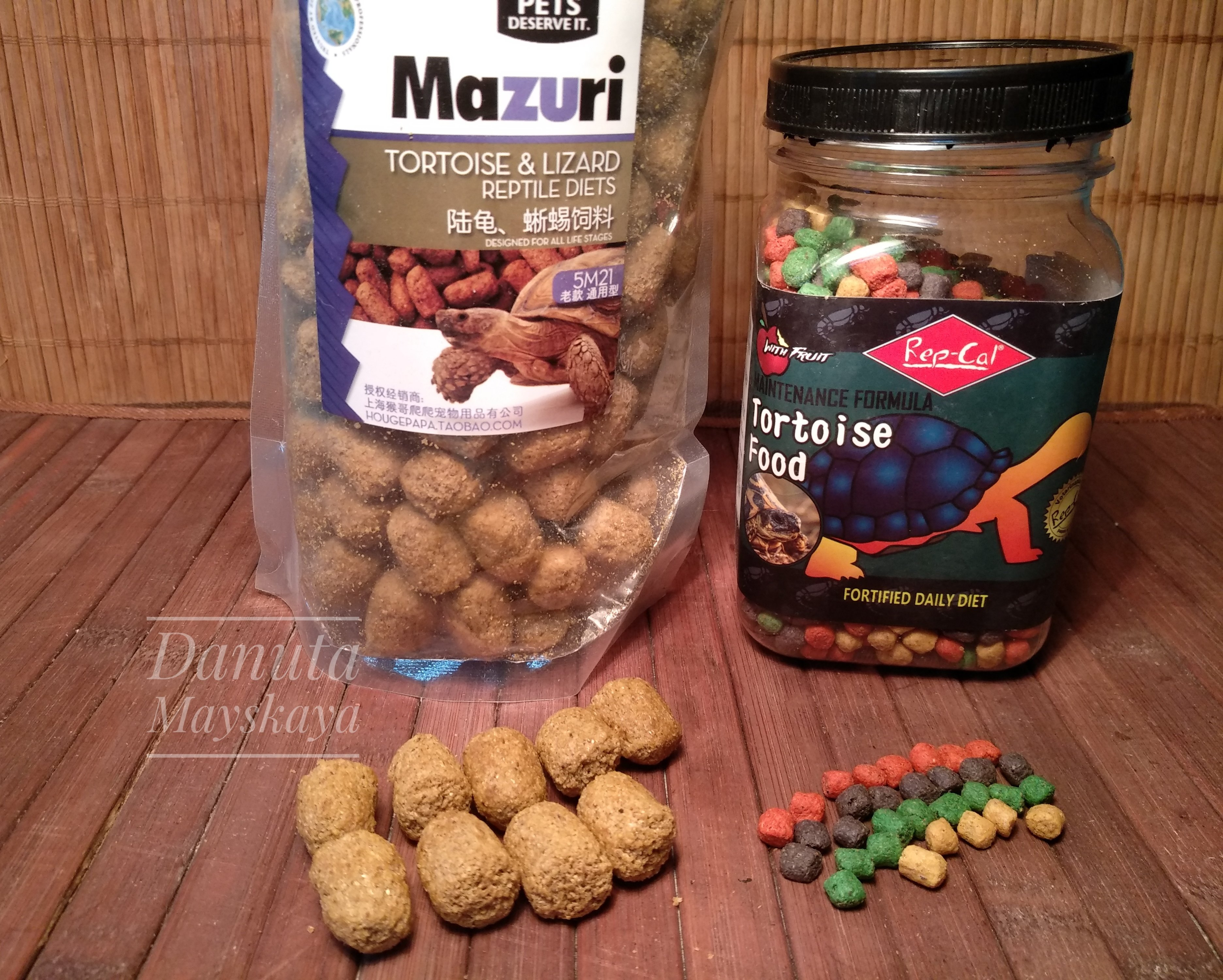 Сухой корм МАЗУРИ (для сухопутных черепах(